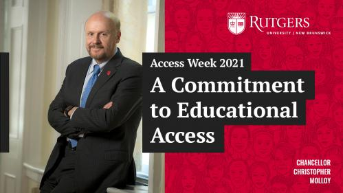Access Week 2021 A Commitment to Educational Access